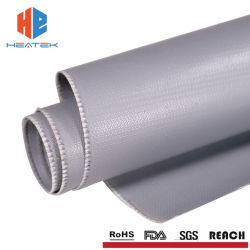 المصنع قماز من ألياف زجاجية مطلية بالفسيسيلون الصناعية عالية الحرارة ألياف زجاجية