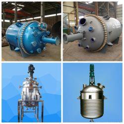3-10kl con rivestimento in vetro/smalto/acciaio inox (SS)/rivestimento in PTFE Reattore serbatoio ad alta pressione /condensatore/scambiatore di calore/autoclave/reattore serbatoio miscelatore impianto chimico