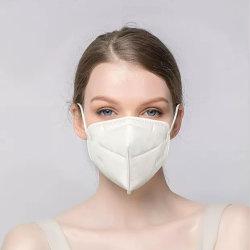 4 قناع الوجه الواقي للوجه غير المحبوك للاستخدام مرة واحدة مع يسمح بمرور الهواء بشكل ناعم الحلقة