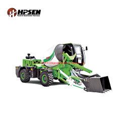 3,5 m3, gira el cuerpo de construcción robusta Maquinaria Auto Mezcla de carga de camiones mezcladores de concreto