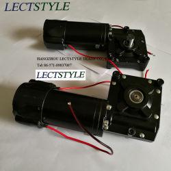 24V 320W rueda helicoidal Motorreductor para la doble trampa de la Oscilación máquina motorizada y carrito de compra