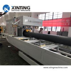 Produzione di plastica dell'espulsione di fabbricazione del tubo del PVC che fa macchina