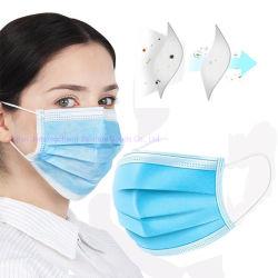 De In het groot Productie van China van drie-Laag High-Efficiency Beschermende Anti-Virus van het anti-Druppeltje van de Filter Volwassen Kap Van uitstekende kwaliteit