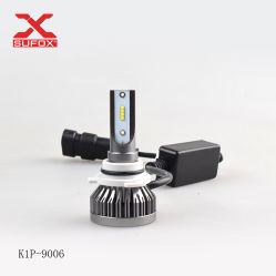 La fábrica de mayor venta de iluminación automática 9005 HB3 9006 Hb4 H11 H4 H7 H1 H3 LED Coche Faro LED 6000K Las bombillas H4 K1 Faro LED