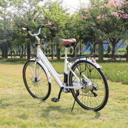 Nouveau Green Power 24/26/28 pouces vélo électrique de la ville de batterie au lithium pour les adultes