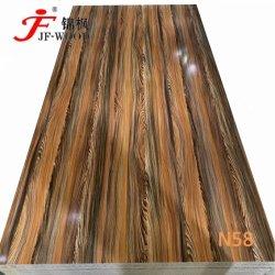 2021 Vendita diretta in fabbrica di mobili in rilievo ad alta lucido per la scuola melammina Cina MDF HDF BB Board
