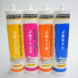 Junbond 300 مل غرفة acic درجة الحرارة Curing Silicone مضاد للجراثيم