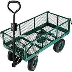 El mejor precio de la Utilidad de servicio pesado carro de herramientas Jardín Cart /Vagón / Barrow y Trolley fabricado en China