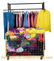 ملابس الأسهم المستعملة بين الموسم الملابس العادية البنت ريترو الجينز يرتطم بدلة الغمزة
