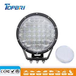 370W LED CREE redonda negra de trabajo de la luz de conducción automática para marinos camión coche