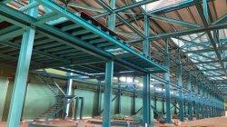 Il metallo modulare dell'indicatore luminoso della serra del gruppo di lavoro del magazzino di alta industria di disegno ha galvanizzato la struttura fabbricata del blocco per grafici d'acciaio della costruzione in costruzione prefabbricata prefabbricata