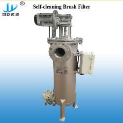 80m3/H de industriële Automatische Zelfreinigende Reiniging van het Water van de Filter van de Borstel van de Olie van de Terugslag