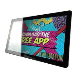شاشة Capacitive Touch بحجم كبير بحجم 18,5 بوصة مع إعلانات Android 6.0 كمبيوتر لوحي بدقة 1366*768