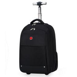 Fahrbarer Laptop-Rucksack-Nachtwochenenden-Laufkatze-Rucksack-Geschäfts-Gepäck-Kabine-Beutel