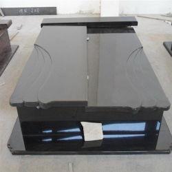 China Shanxi monumento negra lápida