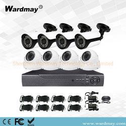 Wardقد 720p مراقبة الفيديو أمن نظام كاميرا CCTV مع المعدن مقبة/رصاصة أهد من مورد CCTV الصيني
