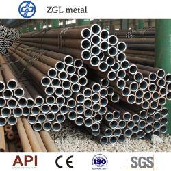 Tubo e tubo senza saldatura in acciaio al carbonio A355 P5 P11 En10210 En10216 DIN175 Tubolare rotondo in acciaio legato a laminazione a caldo 4130 4140 Q345 13cr