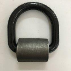 """Gesmede opgelaste D-ring voor bevestiging van 5/8"""" voor vrachtwagenaanhanger"""