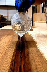 Espessura de Clara Ulral Pour epóxi para trabalhar madeira