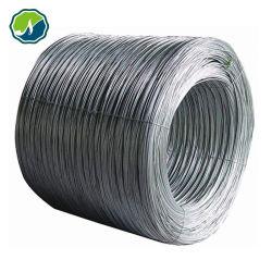 Alambre de hierro galvanizado y alambre de acero inoxidable para cable de metal Binging