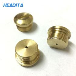 El tornillo de Custom-Made ranurado de cobre de piezas de maquinaria