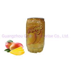 345 ml de bebidas carbonatadas pode Pet transparente com Mango Soda