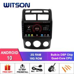 Debitore dell'automobile DVD del Android 10 di Witson per KIA Sportage 2004-2010 (versione manuale del condizionatore d'aria)