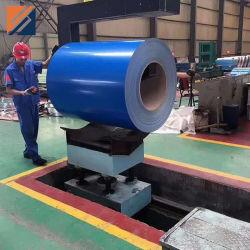 RAL-kleurgecoat voorgespoten gegalvaniseerd roestvrij staal in spiraalstaal Verwijder PPGI PPGL-bouwmateriaal