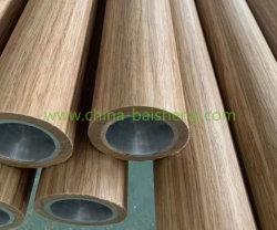 Scala con guide in lega di alluminio verniciate a polvere in vetro laminato zincate Corrimano in acciaio inox
