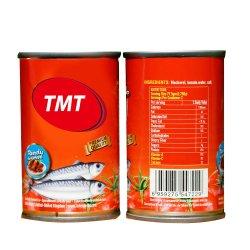 سمك معلب في صلصة الطماطم ثمار البحر المعلبة في زيت نباتي