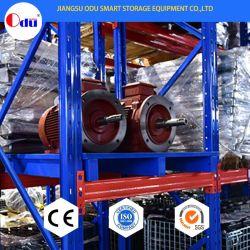 Ce/ISO Nave industrial Rack de almacenamiento de palets Metal Shuttle