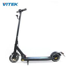 Venta caliente China 250W 8 pulgadas Neumático macizo Freno mecánico Scooter Scooter eléctrico Precio China