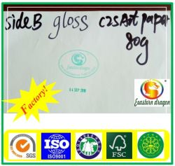 Vendita bianca della carta patinata 85GSM/Pafactory di C2s direttamente