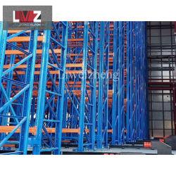 Uso intensivo industrial Almacén de rack Almacenamiento de palets automático sistema de estanterías