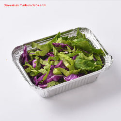 De Container van het Voedsel van de Aluminiumfolie van het huishouden voor het Gebruik van de Keuken