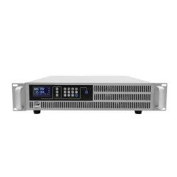 La precisión de sobremesa digital programable de fuente de alimentación DC / 3kw 19'', chasis de montaje en rack