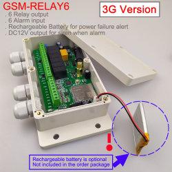 3G/GSM allarme di versione GSM-Relay6 GSM e regolatore del relè