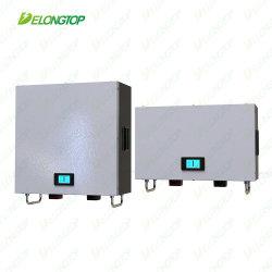 Powerwall 24V 200ah 5kw batteria ricaricabile agli ioni di litio LiFePO4 per Sistema di alimentazione solare domestico