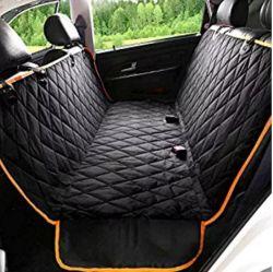 Auto-Deckel-Auto-Sitzhundesitzauto-Träger-Deckel-Rückseiten-Rückseiten-Zudecke-Matten-rutschfesten faltbaren Kissen-Sitzdeckel setzen