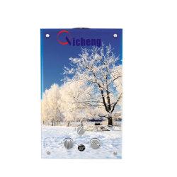 8l Hochwasserdruck S/S Gas Heater Flue Typ Butan 3D Glas