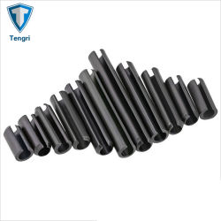Mangan-Stahlrollensprung-gerade gekerbte hohle Stifte