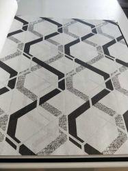 El arte de la barra de celosía de diamantes en relieve el papel tapiz de la decoración de líneas geométricas en 3D de la onda de papel de pared