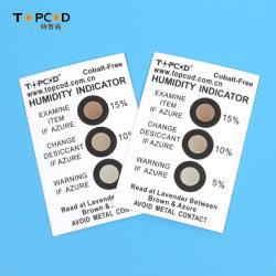 Farbwechsel-Feuchtigkeitsanzeigelkarte für die werkseitige Versorgung zur Anzeige von Wasser Inhalt von LED/IC/PCB