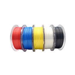 Venta caliente Alta calidad de 1,75mm 1kg 3D de carrete de filamento de pluma de ABS PETG PLA consumibles para impresoras 3D en stock