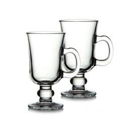 Tazza da caffè irlandese in vetro da 250 ml/8 once, tazza latte