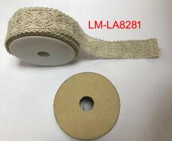Handgemachte Künste der Kleid-Zubehör-Stickerei-Textilverpackungs-DIY und Fertigkeit-Rollenzutat-Baumwollspitze-Rolle