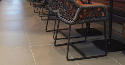 Matt homogénea puro suelo rústico de la casa de porcelana de baldosas antideslizantes suelo 300X300 de 150x600