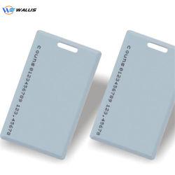 125KHz ID 식별 플라스틱 공백 카드, 무접촉 IC 일반 RFID VIP 카드