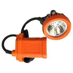 지하 LED 광산 안전 캡 램프 무선 마이너 헤드램프