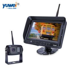 """デジタル無線電信7 """"車の後ろCCDのカメラが付いている車LCDのモニタ"""